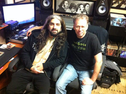 Mike and Chris at Portnoy HQ.